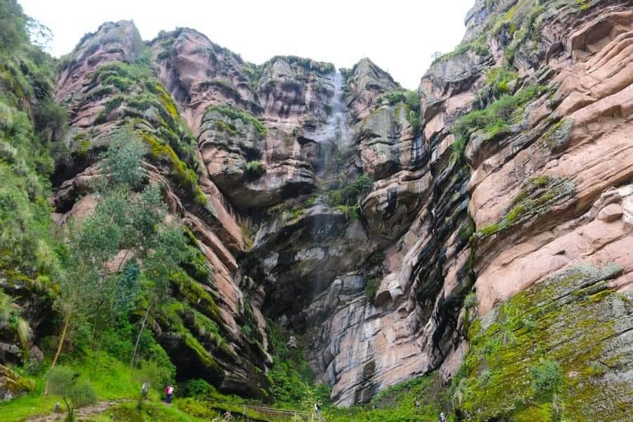 Catarata de Tecsecocha en Ccorca