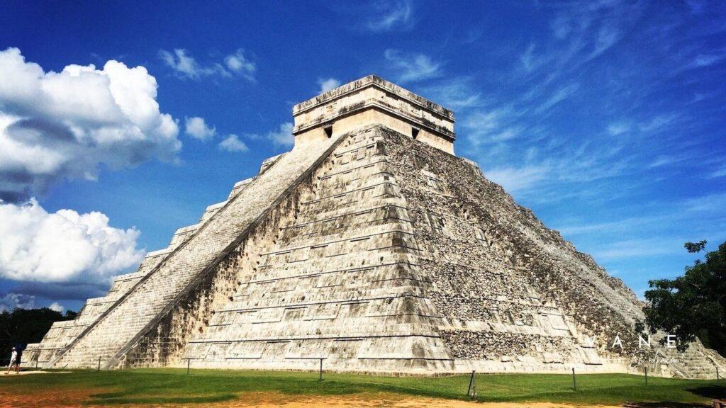 Chichén Itzá - Vane la alpaca