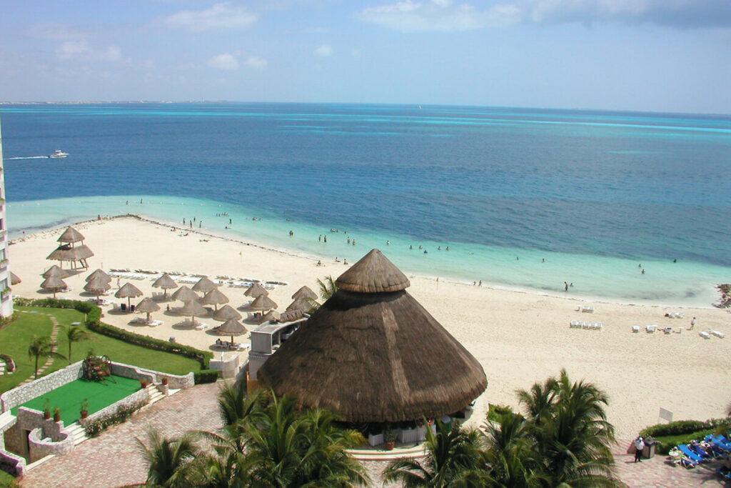 Playa de la langosta Cancun
