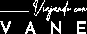 Viajando Con Vane Logo Light White